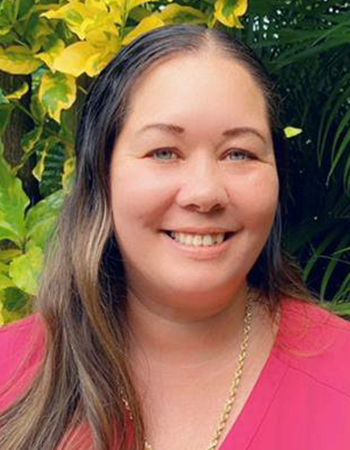 Christine Rombawa, Kina Ole Estate's Director of Nursing